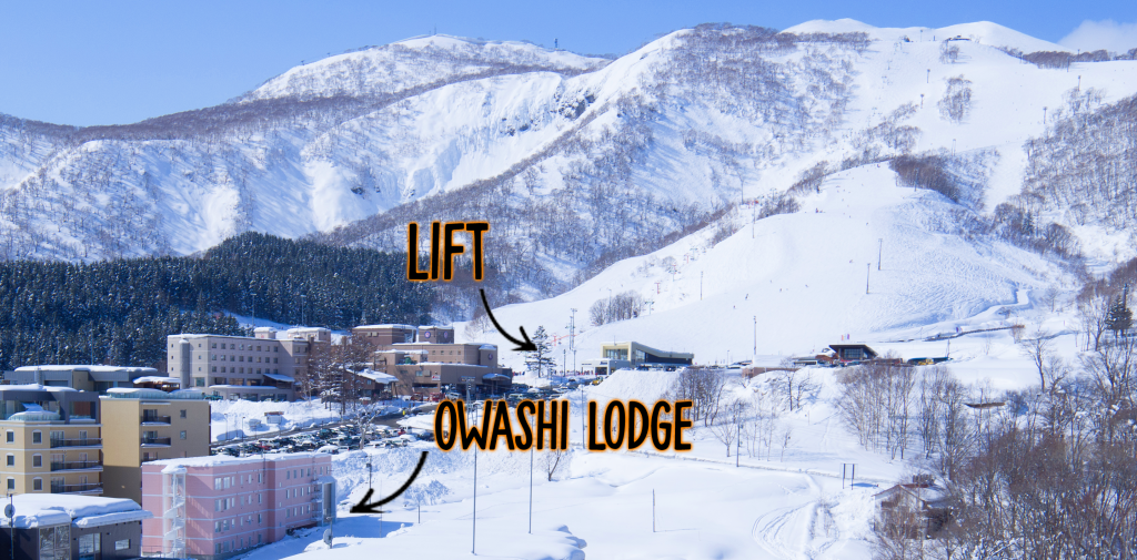 Owashi Lodge Niseko Location